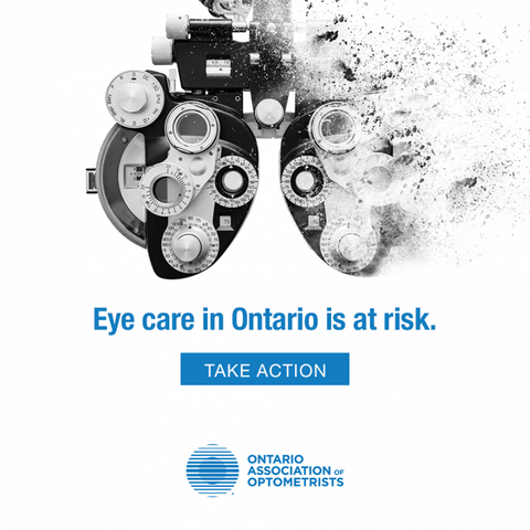 Eye care in Ontario is at risk. Take action.