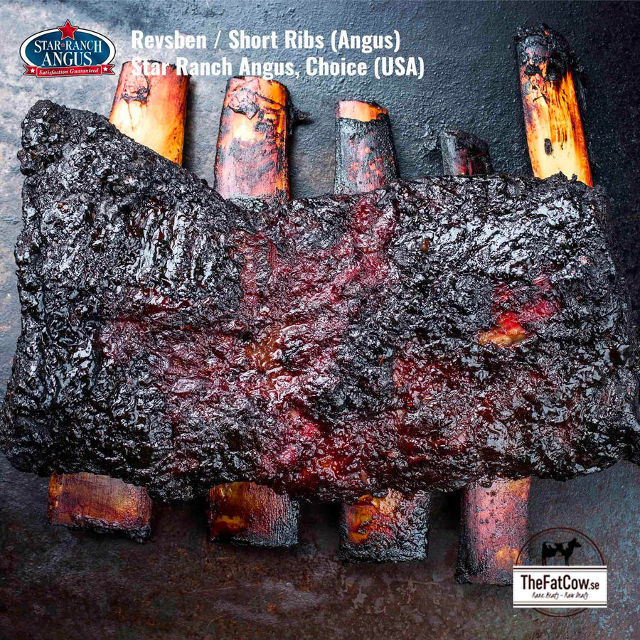 Revsbenstek / Short Ribs (Black Angus), Star Ranch Angus (USA)