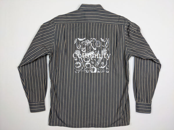 Vtg Yves Saint Laurent x Cottonuity Button Up Shirt