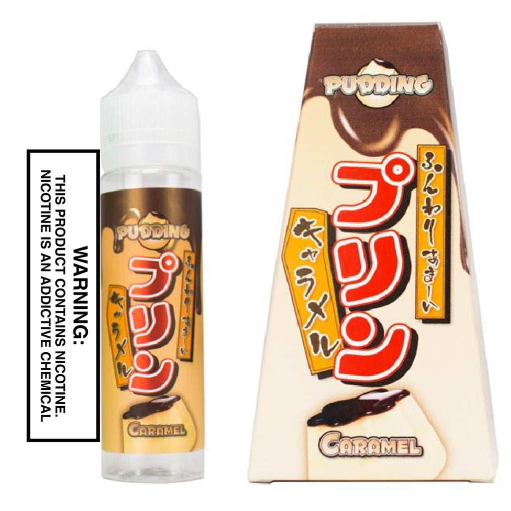 SNAKU ELIQUIDS - CARAMEL PUDDING (60ML)