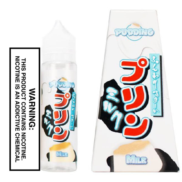 SNAKU ELIQUIDS - MILK PUDDING (60ML)