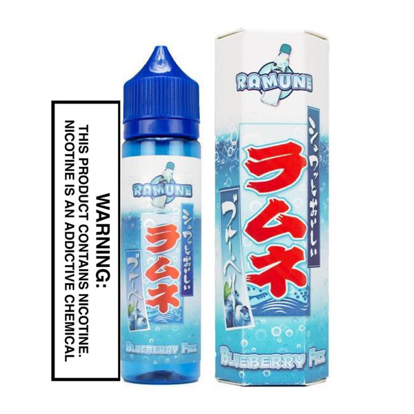 SNAKU ELIQUIDS - BLUEBERRY FIZZ (60ML)