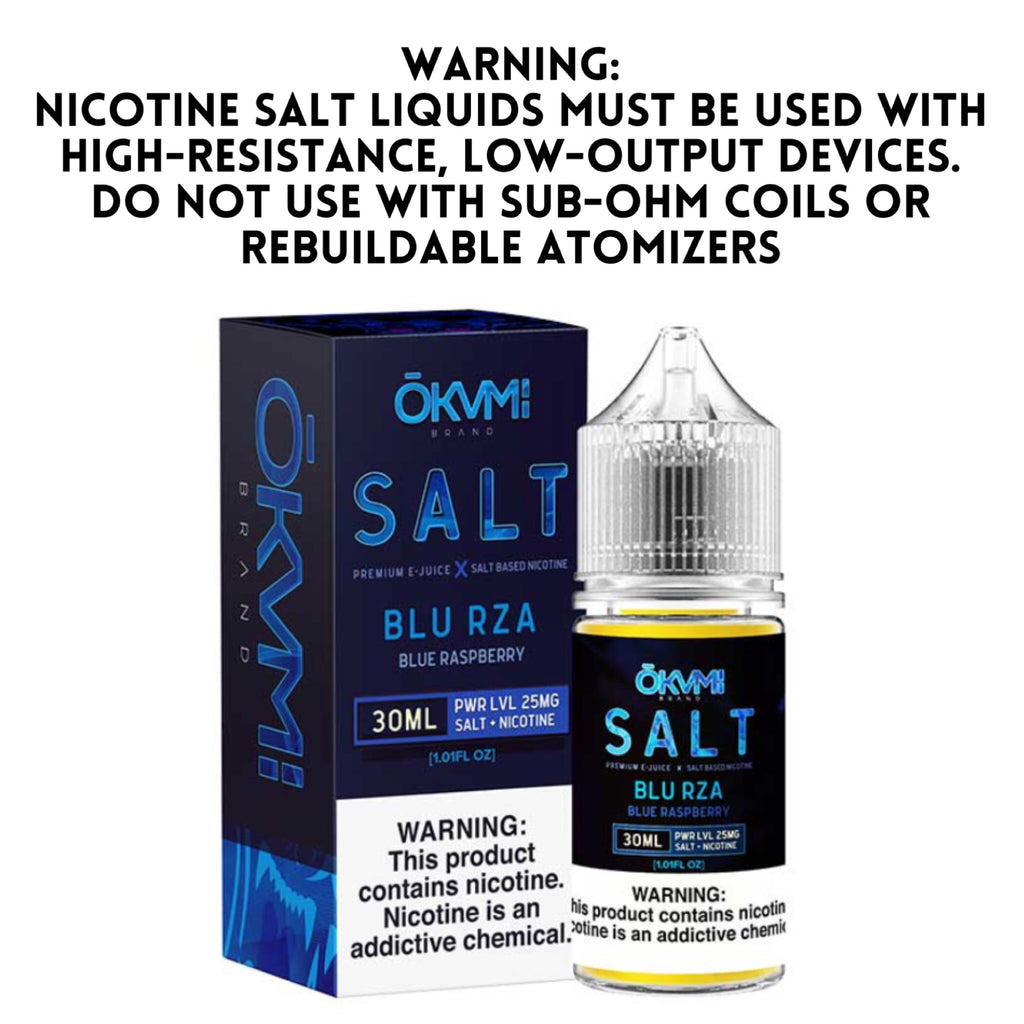OKAMI SALT - BLU RZA (30ML)