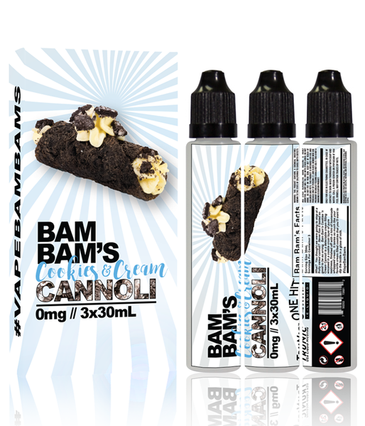 BAM BAM'S CANNOLI - COOKIES & CREAM
