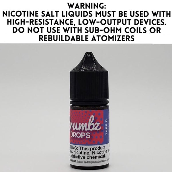 CRUMBZ DROPS SALT - TAFF'D (30ML)