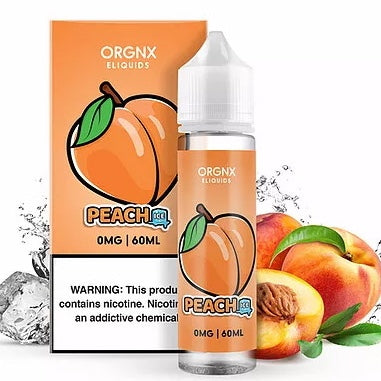 ORGNX - PEACH ICE (60ML)