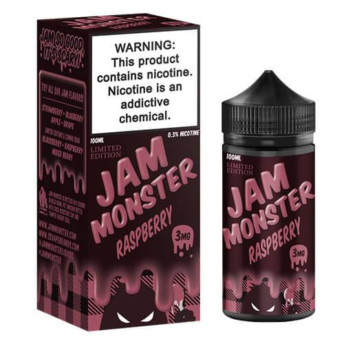 JAM MONSTER - RASPBERRY (100ML)