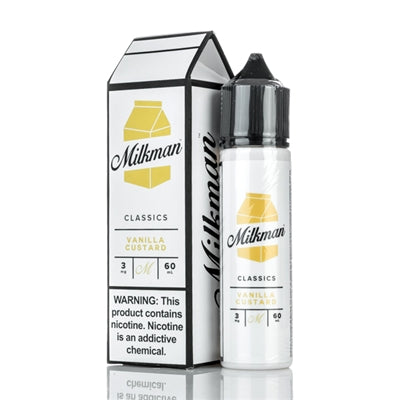 THE MILKMAN - VANILLA CUSTARD (60ML)