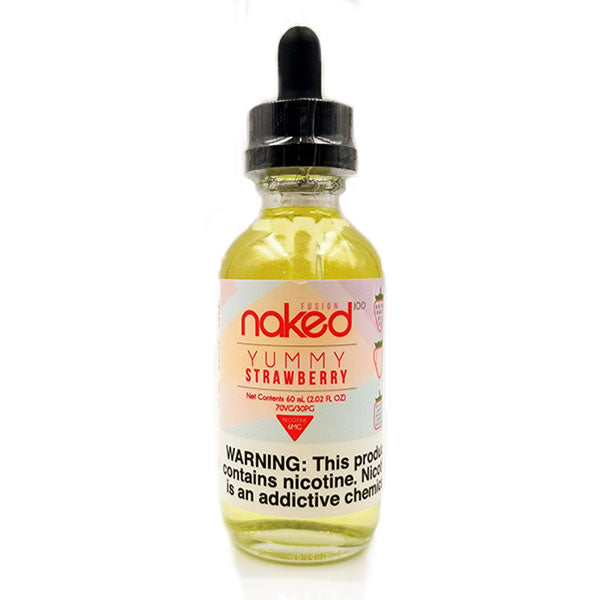NAKED100 FUSION - YUMMY STRAWBERRY (60ML)