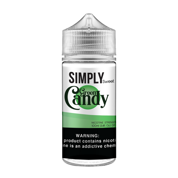 SIMPLY CANDY - GREEN CANDY (100ML)