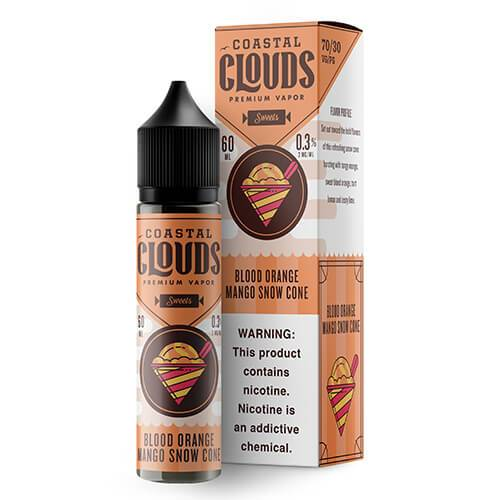 SWEETS BY COASTAL CLOUDS - BLOOD ORANGE MANGO SNOW CONE (60ML)