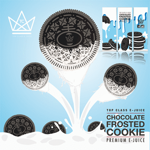 TOP CLASS EJUICE - CHOCOLATE FROSTED COOKIE