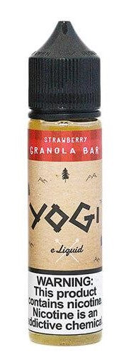 YOGI ELIQUID - STRAWBERRY YOGI (60ML)