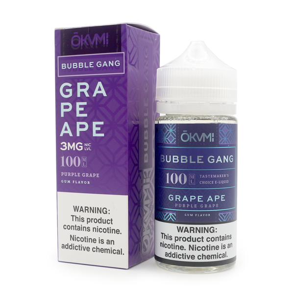 BUBBLE GANG - GRAPE APE (100ML)