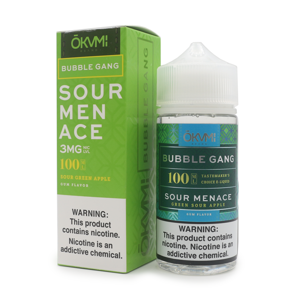 BUBBLE GANG - SOUR MENACE (100ML)