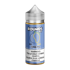ROUNDS ICE - BLUE MANGO (100ML)