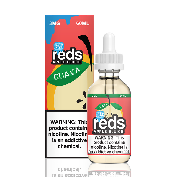 7 DAZE - RED'S APPLE GUAVA ICED (60ML)