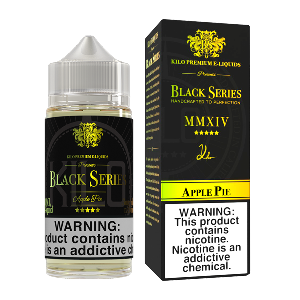 KILO BLACK SERIES - APPLE PIE (100ML)
