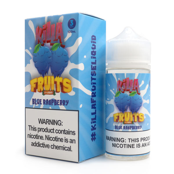 KILLA FRUITS – BLUE RASPBERRY (100ML)