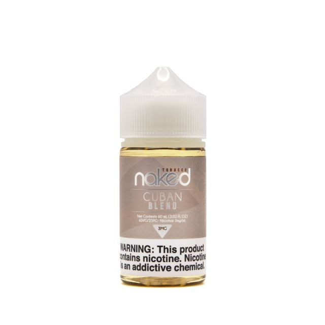NAKED100 TOBACCO - CUBAN BLEND (60ML)