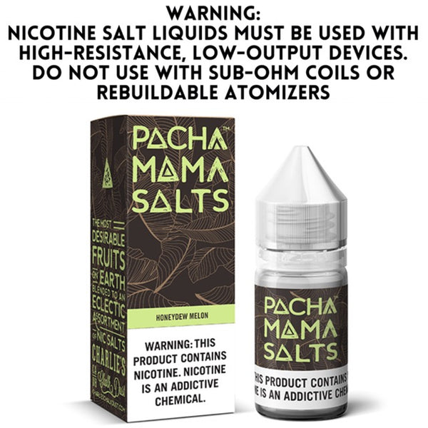 PACHA MAMA SALTS - HONEYDEW MELON (30ML)