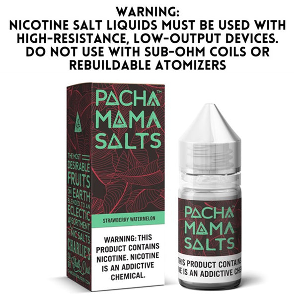 PACHA MAMA SALTS - STRAWBERRY WATERMELON (30ML)