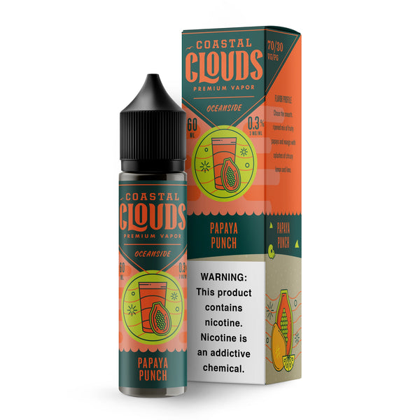 OCEANSIDE BY COASTAL CLOUDS - PAPAYA PUNCH (60ML)