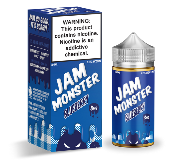 JAM MONSTER - BLUEBERRY (100ML)
