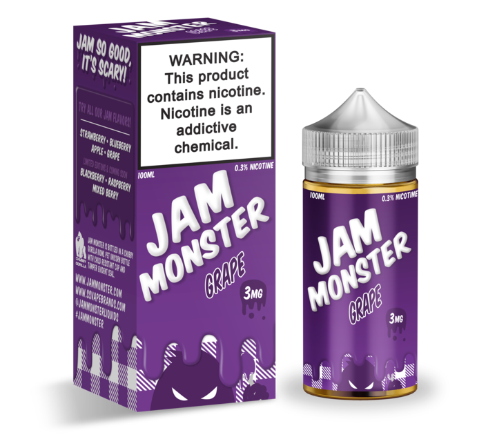 JAM MONSTER - GRAPE (100ML)