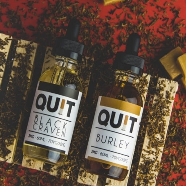 quit eliquid ejuice barley black craven vape