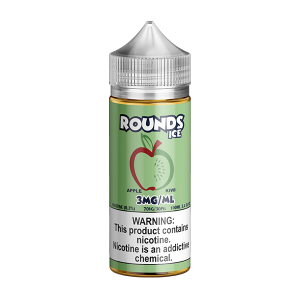 ROUNDS ICE - APPLE KIWI (100ML)