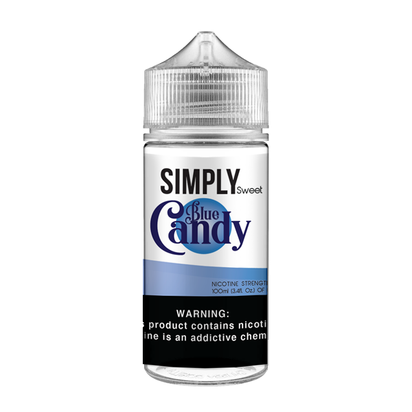 SIMPLY CANDY - BLUE CANDY (100ML)