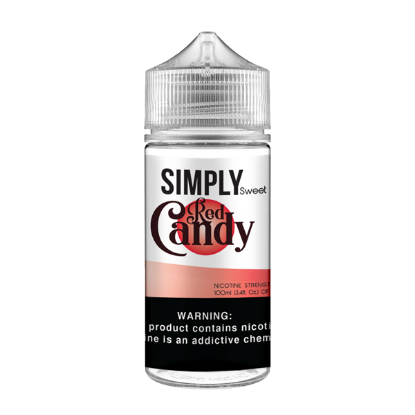 SIMPLY CANDY - RED CANDY (100ML)
