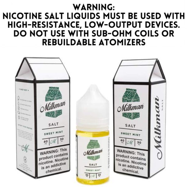 MILKMAN SALT - SWEET MINT (30ML)