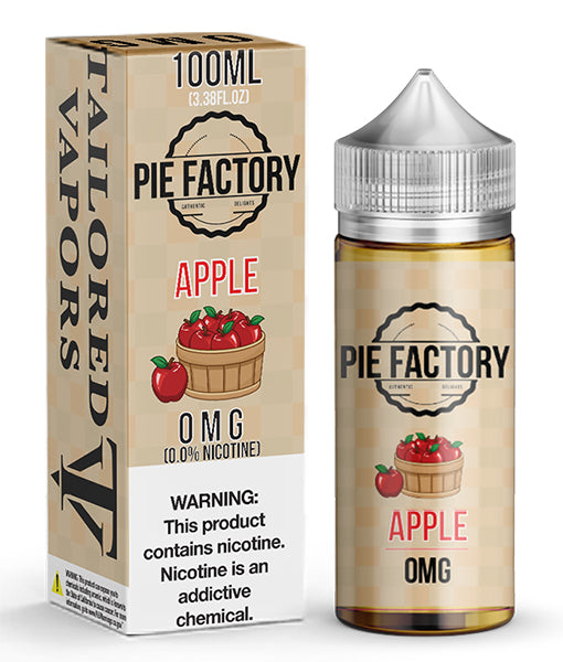 TAILORED VAPORS - PIE FACTORY APPLE (100ML)