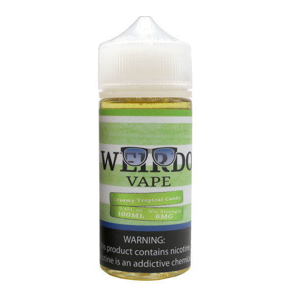 WEIRDO VAPE - CREAMY TROPICAL CANDY (100ML)