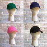 Unstructured petite baseball hats