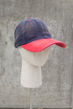 Navy with Red bill