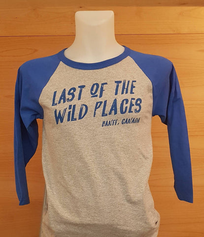 Baseball Tee Last of the Wild Places
