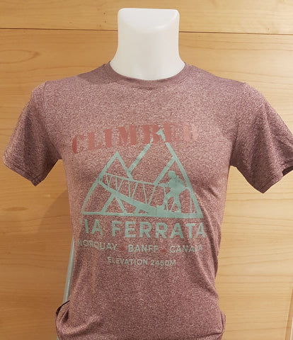 Norquay Climbed Mens Tee