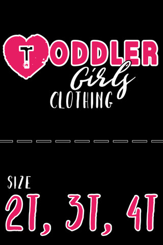 Girls Size 2T-4T