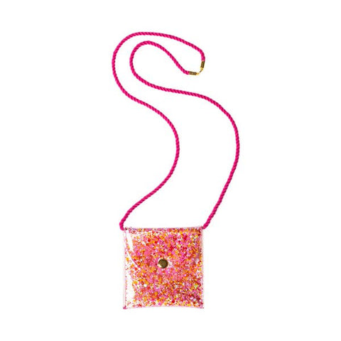 Rockahula Mini Sequin Glitter Necklace Purse