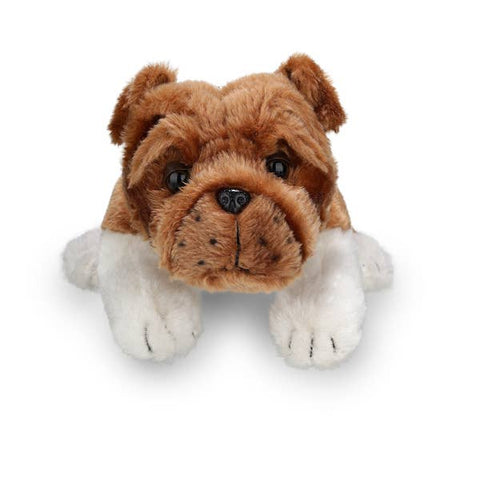 Plushland Bulldog Stuffed Animal