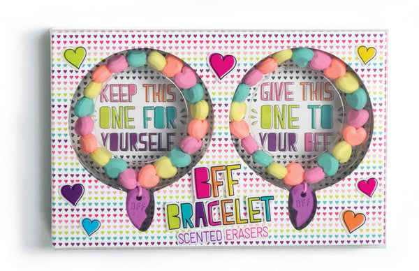 BFF Scented Erasers Bracelets Set of 2