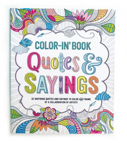 Color-in' Book Quotes & Sayings