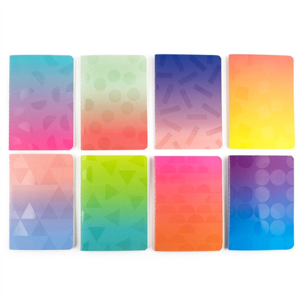 Pocket Pal Journals Oh My Ombre! Set of 8