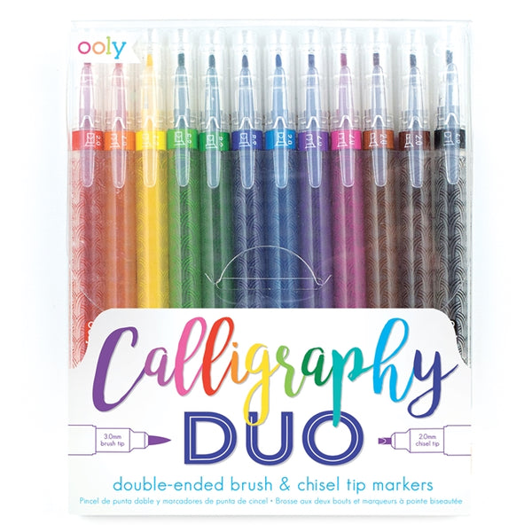 Calligraphy Duo Double Ended Marker Set