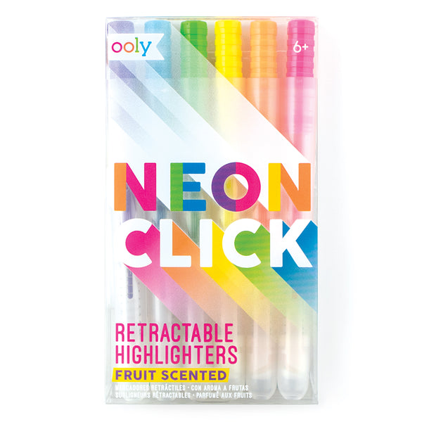 Neon Click Scented Highlighter Set