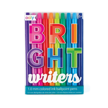 Bright Writers Colored Pens Set of 10
