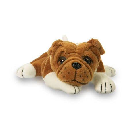 Plushland Baby Bulldog Stuffed Animal